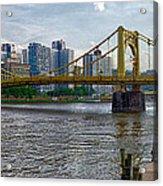 Pittsburgh Clemente Bridge Acrylic Print