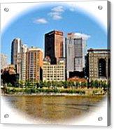 Pittsburgh Pa In The Spotlight Acrylic Print