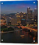 Pittsburgh Pa Acrylic Print