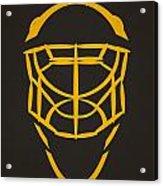 Pittsburgh Penguins Goalie Mask Acrylic Print