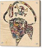 Pittsburgh Pirates Logo Vintage Acrylic Print