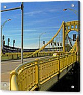 Pittsburgh - Roberto Clemente Bridge Acrylic Print