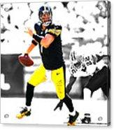 Pittsburgh Steelers Ben Roethlisberger Acrylic Print