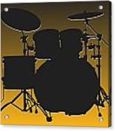 Pittsburgh Steelers Drum Set Acrylic Print