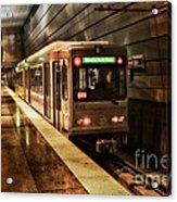 Pittsburgh Subway Acrylic Print