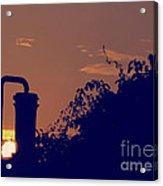 Pittsburgh Sunset  Acrylic Print