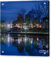 Pittsford On The Erie Canal Acrylic Print
