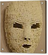 Pixelated Face Acrylic Print