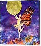 Pixie Ballerina Acrylic Print