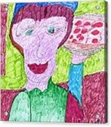 Pizza Anyone Acrylic Print by Elinor Rakowski