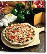 Pizza Acrylic Print