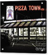 Pizza Town Acrylic Print