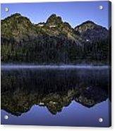 Pl Mountain Range Acrylic Print
