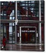 Place De La Defense Acrylic Print