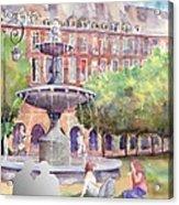 Place Des Vosges Acrylic Print
