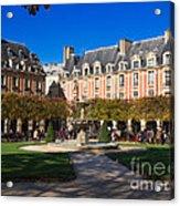 Place Des Vosges Paris Acrylic Print
