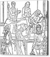 Plague, 1500 Acrylic Print