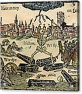 Plague Of London, 1665 Acrylic Print