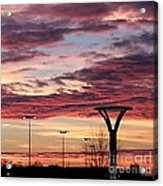 'plainfield Sunset II Acrylic Print