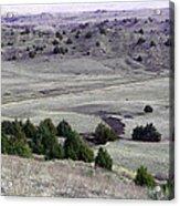 Plains Of Nebraska Acrylic Print