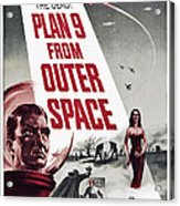 Plan 9 From Outer Space, Vampira, 1959 Acrylic Print