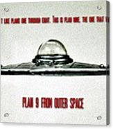Plan 9 Seinfeld Acrylic Print