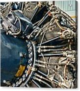 Plane Engine Close Up Acrylic Print