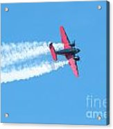 Plane In Air  Acrylic Print
