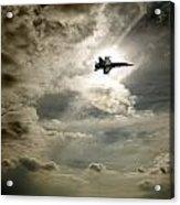 Plane In Flight Acrylic Print