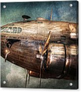 Plane - Pilot - The Flying Cloud  Acrylic Print by Mike Savad