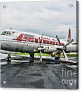Plane Props On Capital Airlines Acrylic Print