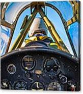 Plane Ride Acrylic Print