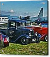 Planes And Cars Acrylic Print