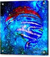 Planet Disector Blue/red Acrylic Print