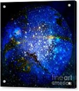 Planet Disector Home Acrylic Print