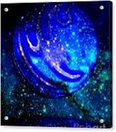 Planet Disector Reflected Acrylic Print