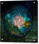 Planet Disector Shadows Acrylic Print