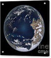 Planet Earth 600 Million Years Ago Acrylic Print