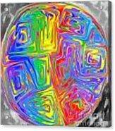 Planet Funk Acrylic Print