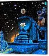 Planet Of Shiva  Acrylic Print by Jason Saunders