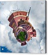 Planet Tripler Acrylic Print