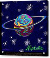 Planets 7 8 9 - Science Acrylic Print