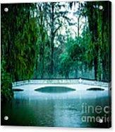 Plantation Bridge Acrylic Print