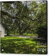 Plantation Grounds Acrylic Print