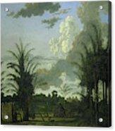 Plantation In Suriname, Dirk Valkenburg Acrylic Print