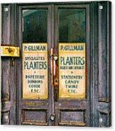 Planters Acrylic Print