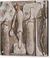 Plasterer's Tools Acrylic Print