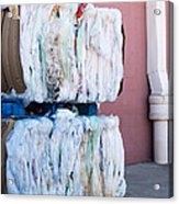 Plastic Bags To Be Recycled Acrylic Print