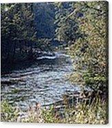Plate River No 2 Acrylic Print