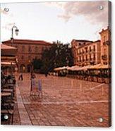 Plateia Syntagmatos Acrylic Print